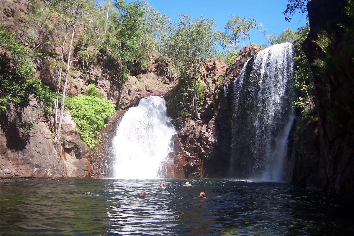 Florence Falls - Litchfield National Park - Northern Territory - Australia