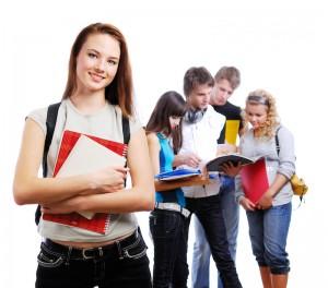 Graceful female student