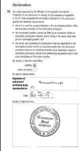 RCB Regional Certifying Body approval_187 RSMS Regional Sponsored Migration Scheme Visa_Australia