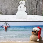 Christmas holidays in Australia