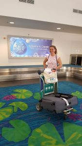 Manuela Seiberth - Northern Immigration Australia at Darwin Airport