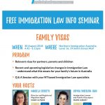 Family Visa workshop 30 August 2018 DARWIN