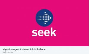 Seek RMA assistant job ad